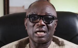 President of Ghana Union of Traders Association (GUTA), Dr. Joseph Obeng