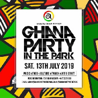 Flyer for the 2019 edition of party in the park