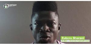 Former Dreams FC player, Zuberu Sharani