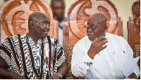 President Nana Addo Dankwa Akufo-Addo and Vice President Bawumia