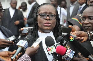 Attorney General and Minister of Justice, Gloria Akufo