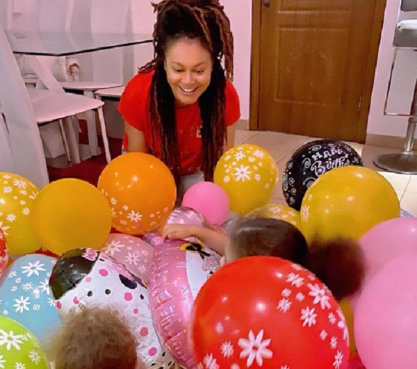 Nadia Buari shares adorable photos of her daughters on Instagram