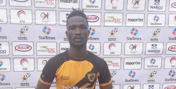 GPL: AshGold defender Samed Mohammed picks MOTM award in win against Hearts