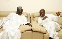 President-elect Nana Addo Dankwa Akufo-Addo and Vice president-elect, Dr. Mahamudu Bawumia