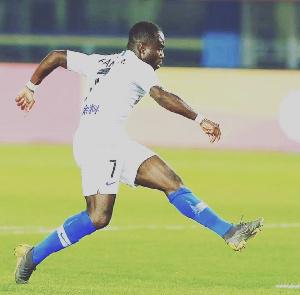 Ghanaian International, Frank Acheampong