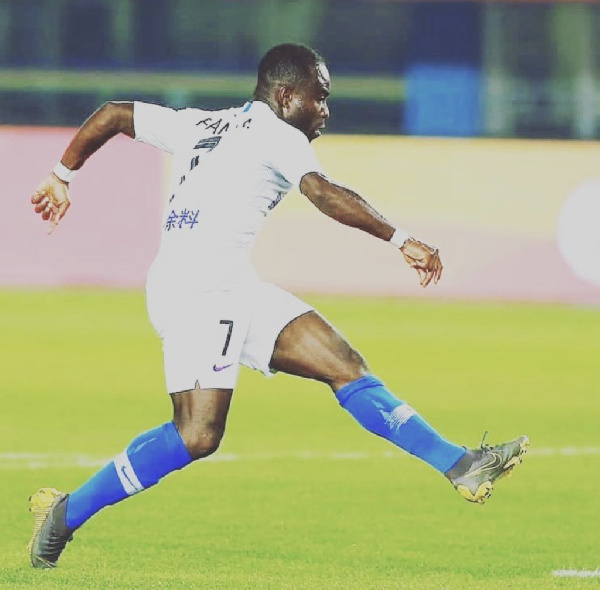 Frank Acheampong ready to grab Black Stars call-up