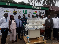 37 Military Hospital received an incubator from Kokrokoo Charities Foundation
