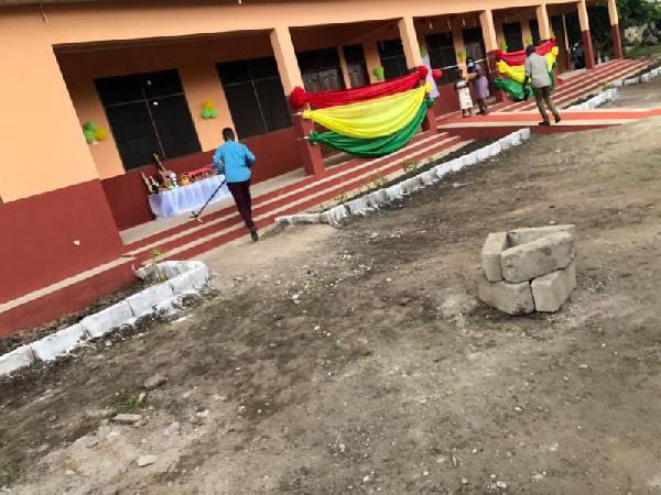 Shai-Osudoku Assembly inaugurates classroom project