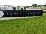 Shai Osudoku District Hospital entrance