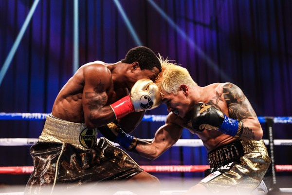 Duke Micah defended his WBO bantamweight title