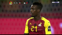 Boye was red carded in Ghana's game against Benin