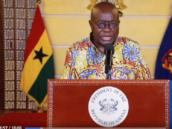 Weddings, funerals, others cause of recent hike in coronavirus cases – President Akufo-Addo