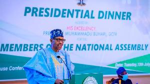 President Muhammadu Buhari dinner wit Nigeria lawmakers - Highlights