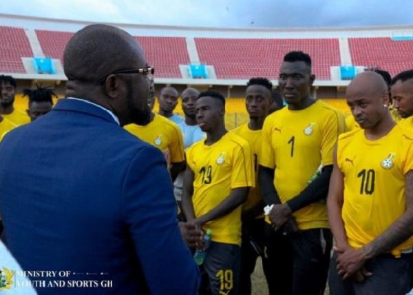 \'World Cup qualifiers a test of your quality\' – Kurt Okraku to Black Stars team