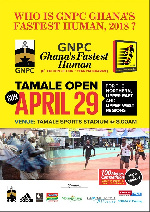 GNPC Ghana Fastest Human will hit Tamale this weekend