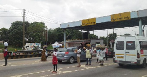 Tema Motorway Toll Booth