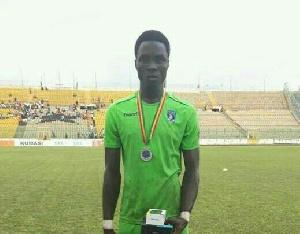 Bechem United FC attacker, Hafiz Konkoni