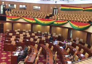 File photo of Parliament showing some empty seats