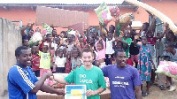 Ali Royal Surf & Soccer Foundation receive the gift from their donors