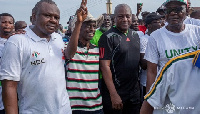 Former  President John Dramani Mahama and Some NDC Executives