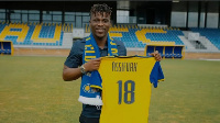 Assifuah sealed the move to newly promoted Ligue 2 outfit on Thursday