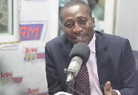 Alexander Kwamina Afenyo-Markin, Member of Parliament for Effutu constituency in the Central Region