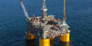 Shell's Ursa platform, 130 miles southeast of New Orleans