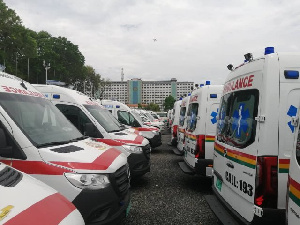 96 of these ambulances have already been cleared and are undergoing processes
