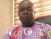 President of the University of Ghana chapter of UTAG, Dr. Samuel Nkumbaan
