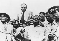Osagyefo Dr. Kwame Nkrumah hailed after attaining independence for Ghana