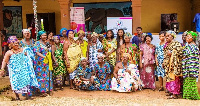 Queen mothers at the Touching The Lives of Girls Foundation's Menstrual Hygiene campaign  launch