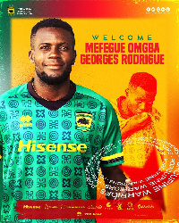 Asante Kotoko player, George Mfegue Omgba