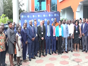 Participants at the Ghana Maritime Authoirty workshop
