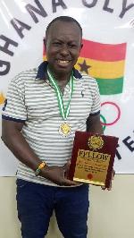 Nana Adu Mankatta II, president of Sports For All Association of Ghana