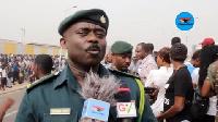 Head of Public Affairs at Ghana Immigration Service, Supt. Michael Amoako Atta