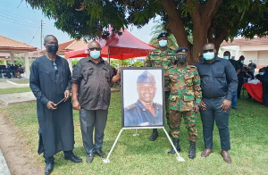 The late officer was a former Chairman of the GFA Safety and Security Committee