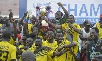 Ashgold winners of 2014/15 league