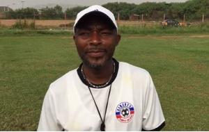 Liberty Professional head coach, David Ocloo