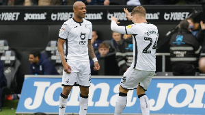 Swansea City Vice captain,Andre Dede Ayew