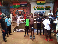 The fight will come off at the Lebanon House boxing arena