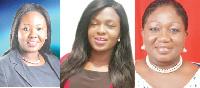 Joycelyn Tetteh, North Dayi, Volta Region and Francisca Appiagyei, Asokwa, Ashanti Region