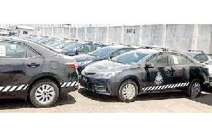 Police vehicles (file photo)