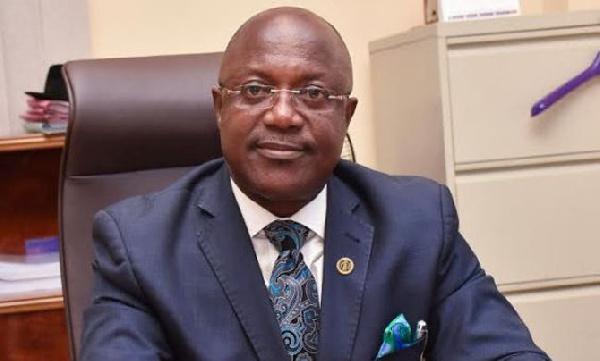 Professor Ken Attafuah, Executive Director of the National Identification Authority