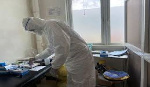 File Photo of health professional in a PPE