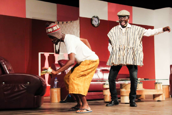 Nii Commey exposes the socio-political potholes in Ghana in his latest play