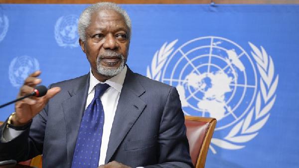 Kofi Annan was the seventh secretary-general of the United Nations