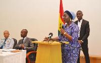 Ursula Owusu-Ekuful, Minister for Communications