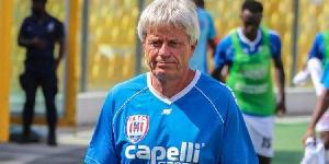 Inter Allies coach, Henrik Lehm