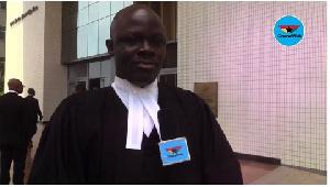 Lawyer Samson Lardy Anyenini