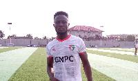 Karela United striker Maxwell Boakye